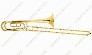 Instrumentstrombone en laiton/Trombone de glissière de accord bas (TB12D-L)