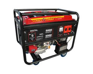 4kw /5kw /6kkw Digital Portable Gasoline Generator con CE