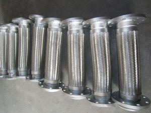 Versterk Slang van het Flexibele Metaal van het Roestvrij staal van het Type van Flens de Draad Gevlechte