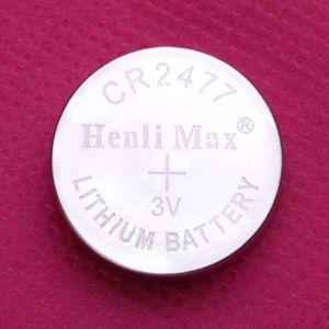 SuperQuality Cr2477 3V Lithium Battery