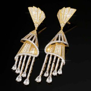 Mode collier et de gros Earrings Bijoux Set pour les femmes