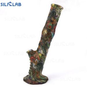 Plataforma de DAB accesorios personalizados de silicona de hierba de los tubos de vidrio del tubo de agua de consumo de tabaco Bowl