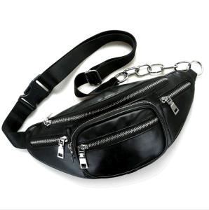 Correia de PU Bag Mulheres Bolsas da bolsa à cintura Ins Fashion Crossbody Bag Lady pequeno saco de bolsas de réplica de Bolsas no atacado (WDL0764)