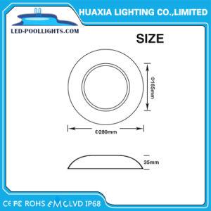 Холодный белый RGB 12V IP68 плоские водонепроницаемый лампу фонаря под водой бассейн светодиодный индикатор