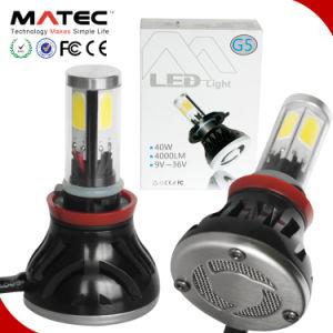 卸し売り6000kをつける高い内腔80W 8000lm車LEDのヘッド軽い電球