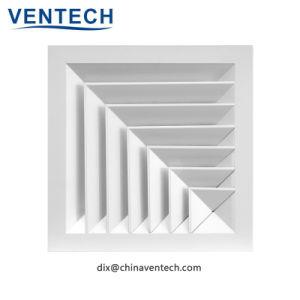 HVAC Т-площади потолка 4 способ диффузор из алюминия