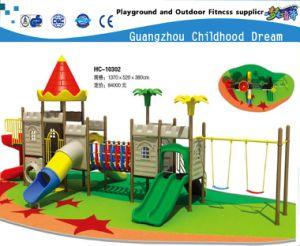 Parque Infantil de promoção de equipamentos para parque ao ar livre com flor de lótus (HC-10201)
