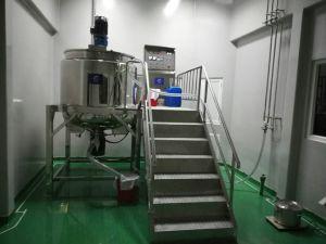 化粧品混合装置の液体洗剤、シャンプー、液体石鹸のホモジェナイザーアジテータやかん