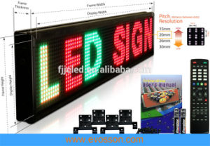 Один цвет крупноформатного P5 для использования внутри помещений дисплей со светодиодной подсветкой для прокрутки сообщения