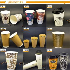 Custom горячего кофе красный 8 унции 120z бумага наружные кольца подшипников