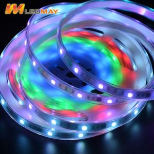Striscia flessibile di magia 1903 5050 SMD RGB LED di DC12V
