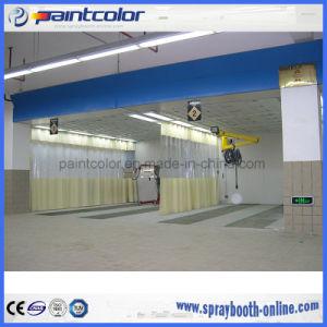 Benutzerfreundlicher Typ Vorbereitungs-Bucht-Vorbereitungs-Station einfach, hintere Absaugventilatorfilter Spraybooth Paintbooth zu ändern