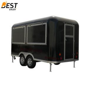 正方形のカートのラウンド・コーナ3.9X2.1は移動式ファースト・フードのカートのトラックをメーターで計る
