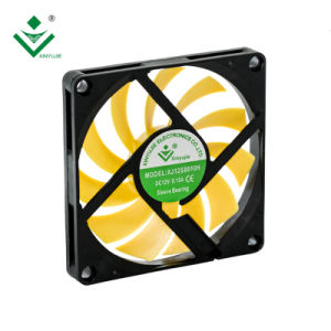 3800rpm 8010 de Koeler van de Ventilator van de 80X80X10 80mm cpu Ventilator 24V 12V gelijkstroom voor Duplicator die Hoge Cfm koelen
