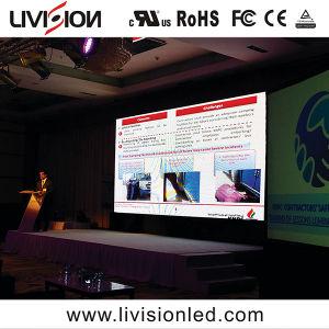 Location de haute qualité plein écran LED de couleur à l'intérieur du panneau de l'écran Affichage LED P4.8 pour des événements