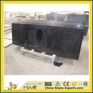 Plak van het Graniet van Angola de Zwarte voor Countertop van de Keuken