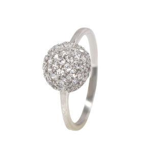 숙녀 (R7308)를 위한 최신 작풍 보석 은 반지