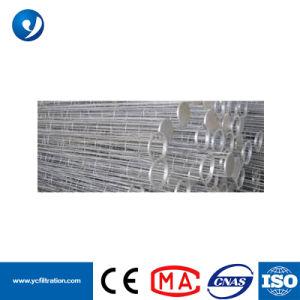 Saco galvanizado Cage, saco de filtro de silício orgânico Cage com Venturi