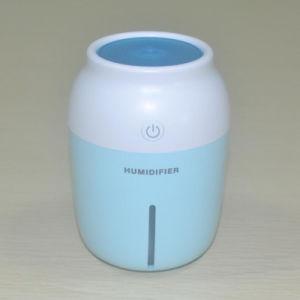 230ml de aire Mini USB humidificador ultrasónico con LED de luz de noche