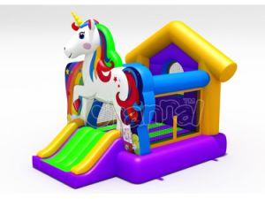 Cheap Unicorn pequeña casa de rebote de inflables para niños CHB848