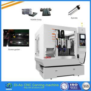 4 Jefes máquina de grabado CNC Máquina con la revista la cuchilla para diversos instrumentos, la pantalla del teléfono y ordenador portátil