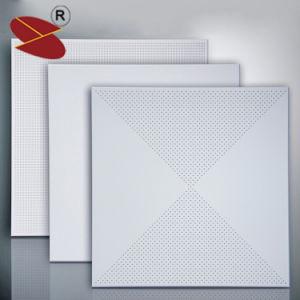 2019 Nouveau revêtement en poudre dalle de plafond en aluminium