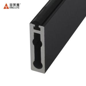B74長方形の適正価格のハードウェアのアクセサリのワードローブのための流行のアルミ合金の管