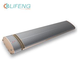Limite máximo de infravermelhos exterior eléctrico Aquecedor de radiação com 1800W