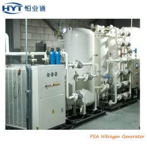 En el sitio de PSA de separación de aire máquina de hacer gas nitrógeno.
