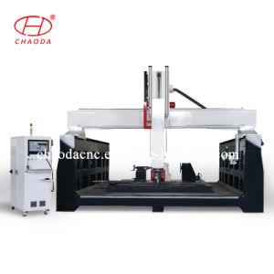 China Fornecedor 5 fresadora CNC de eixos para grandes 3D esculturas de venda quente do molde