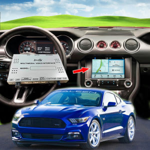Voiture Android de navigation GPS Plug and Play avec interface multimédia pour Ford Mustang Mirrorlink pour