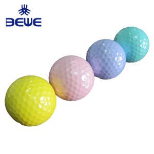 Barato hecho personalizado colorida pelota de golf driving range