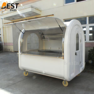 屋外の移動式食糧キオスクデザインまたはカートまたはトレーラーのファースト・フードのカートデザインアイスクリームのカート