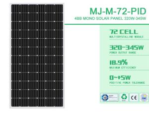 태양 에너지 시스템을%s 310W 고품질 단청 태양 모듈