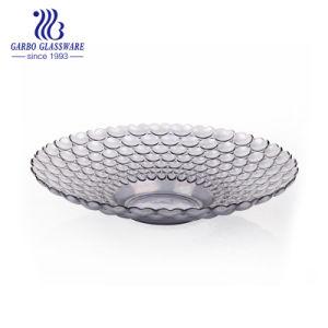 Nouveau Grand bille transparent de la conception de la plaque de verre rondes (GB1712AX/DDB)