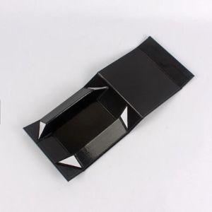 Diseño plegable cierre magnético Caja de cartón de regalo
