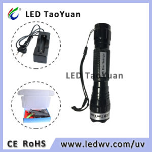 265Nm 275 Nm 365 Nm 395nm torche LED UV LED 3W Lampe de poche UV