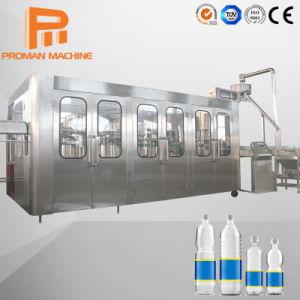 Ligne de l'usine en bouteille Pet automatique l'eau pure / l'eau potable / eau minérale de la machine de remplissage de liquide de l'embouteillage de boissons avec projet clés en main