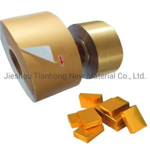 Продовольствия из алюминиевой фольги упаковочная бумага для шоколада и сливочное масло/жевательной резинки/бульон Cube упаковки