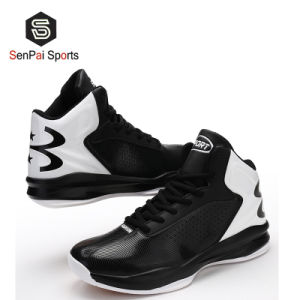 Novo Unissexo High-Top PU tênis de basquete homens Calçado de desporto