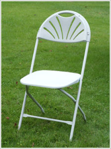 Wedding Events에 금속 Plastic Folding Chair