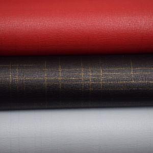 Processus d'humide texturée en imitation cuir artificiel PU Matériau synthétique matériau pour chaussures