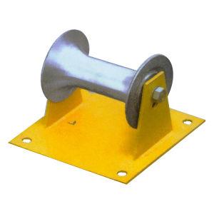 Câble électrique de la poulie du rouleau de câble en acier inoxydable
