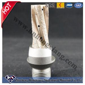 Cortador de fresado de diamante sinterizado para la máquina de vidrio CNC