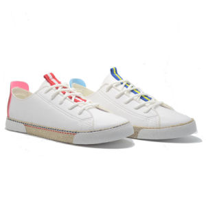 2018 Nuevo Diseño Casual Mujer Zapatos de lona PU