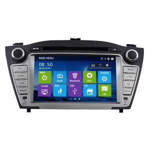 DVD с помощью системы навигации GPS для Hyundai IX35 (IY0988)