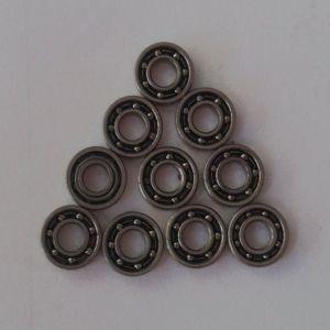 Abra os rolamentos de esferas de cerâmica híbrido miniatura