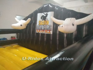 Aire sleaed colchones inflables / hinchables toro mecánico Mateo / Juegos de deportes