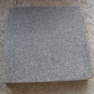 中国の床タイルは黒いG684花こう岩を炎にあてた