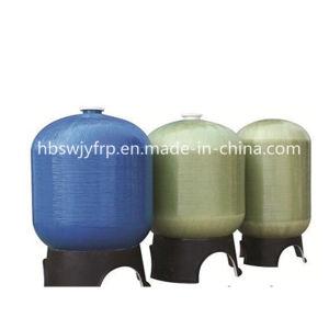 Recipiente de plástico reforçado por fibra de amaciante de água comercial